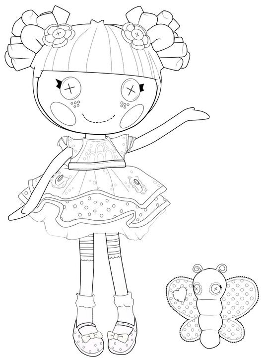 lalaloopsy coloring pages for kids - photo#31