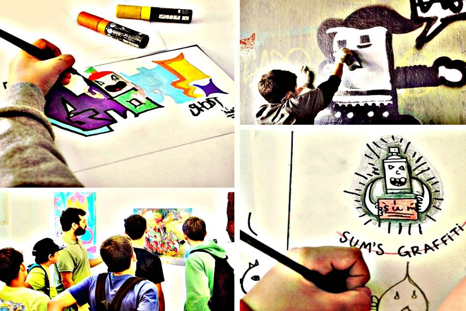 Graffiti για παιδιά 8 έως 12 ετών στο Ίδρυμα Θεοχαράκη  22450680d11