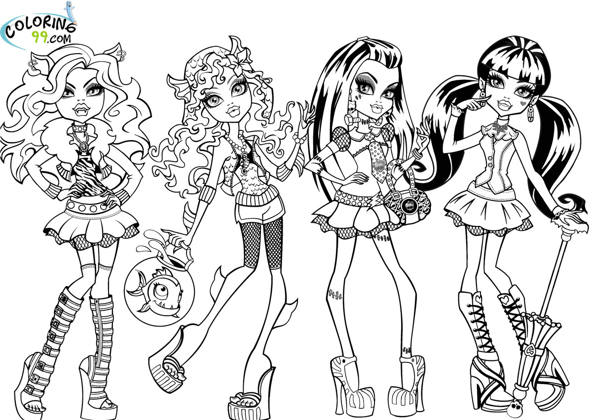 Download free and fun Barbie activities  coloring pages