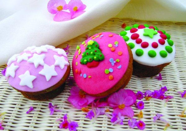 2e742b5810a Χριστουγεννιάτικα Cupcakes | Πάμε Βόλτα