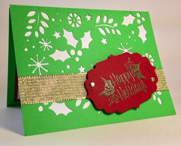Φτιάχνουμε χριστουγεννιάτικες κάρτες στο βιβλιοπωλείο Μαλλιάρης-Παιδεία